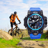 Mens Water and Mud Resistant Sports Watch