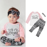 Girls T-shirt, Leggings, and  Headband Set