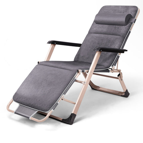 Phenomenal Folding Lounge Chair Portable Multi Function Furniture Chaise Lounge Metal Frame Foldable Single Bed Cot For Camping Inzonedesignstudio Interior Chair Design Inzonedesignstudiocom
