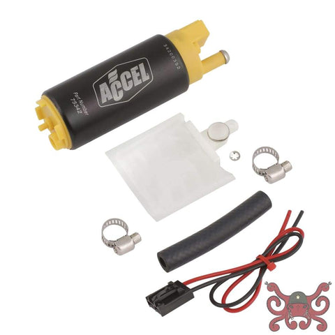 ACCEL Fuel Pump - Thruster 500 - Dom/Imp - High Performance 500 PPH- 83 GPH @ 43.5 PSI / 75 GPH @ 60 PSI #75342 Fuel Pump
