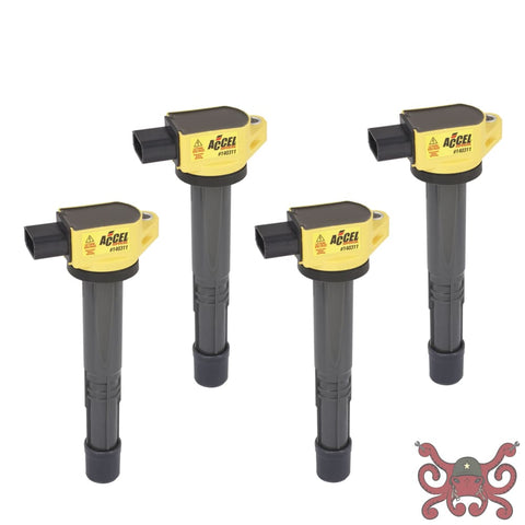 ACCEL Ignition Coil - SuperCoil - Honda 2.0/2.2/2.4L - I4 - 4-Pack #140311-4 Ignition Coils