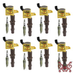 Accel Ignition Upgrade Kit- Ford 3 Valve Late Modular 4.6L V8/ 5.4L V8/ 6.8L V10 Engines- 8 Pack #811433E Ignition Coils
