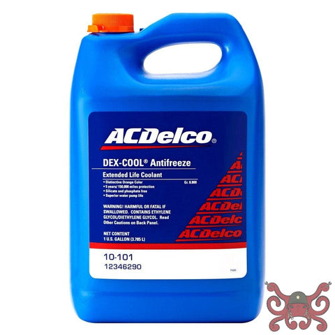ACDelco DEX-Cool Coolant Antifreeze OEM fluid Concentrate Fluids