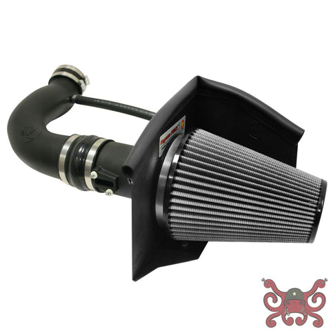 aFe POWER 12th Gen F-150 Magnum FORCE Stage-2 Pro Dry Cold Air Intake System Pro DRY S Air Intake