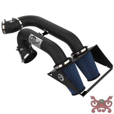 aFe POWER 13th Gen F-150 Magnum FORCE Dual 3 Stage-2 Pro 5R Cold Air Intake System Air Intake