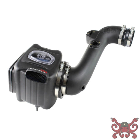 aFe POWER 2nd Gen Silverado Diesel Momentum HD Pro Cold Air Intake System Pro 10R Air Intake