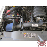 aFe POWER 3rd Gen Silverado Gas Magnum FORCE Stage-2 Pro DRY S Cold Air Intake System Air Intake