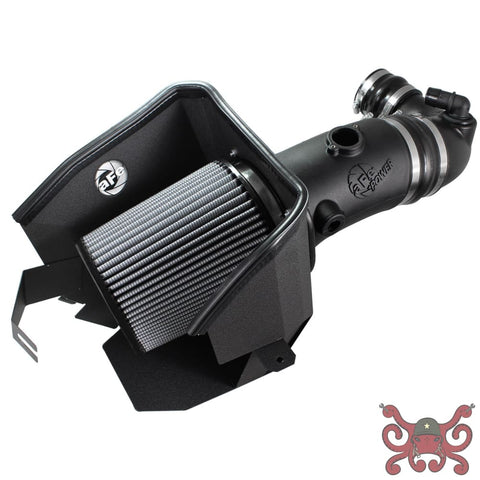 aFe POWER Ford F-350 Magnum FORCE Stage-2 Pro Cold Air Intake System Pro DRY S Air Intake