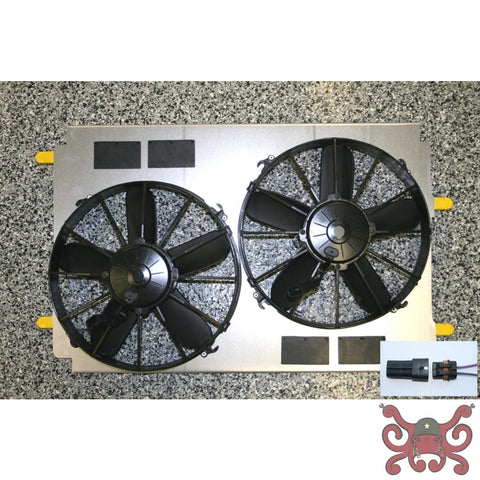 DeWitts C5 Spal Fan Upgrade Fan