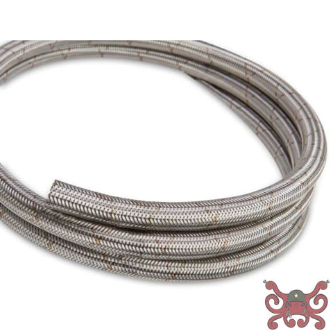 Earls Ultra Flex Hose Size -10 Stainless Steel Braid - 6 Ft #660610ERL Hose