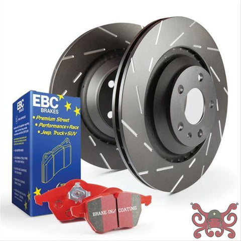 EBC C6 Corvette Signature Brake Bundle Rear Brake Bundle