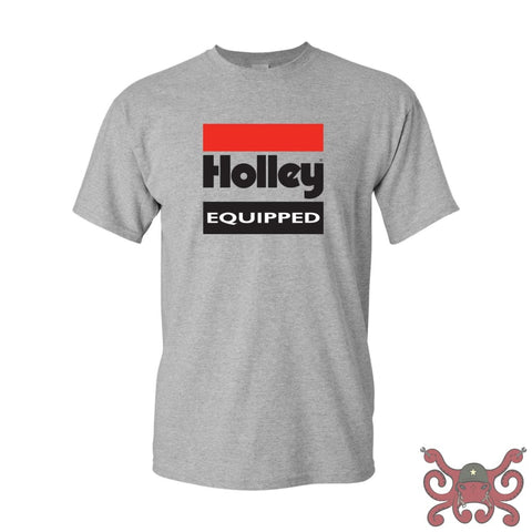 Gray Holley Equipped T-Shirt (2X-Large) #10022-XXLHOL Apparel