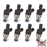 Holley EFI 42 lb/hr Performance Fuel Injectors - Set of 8 #522-428 EV1 Fuel Injector