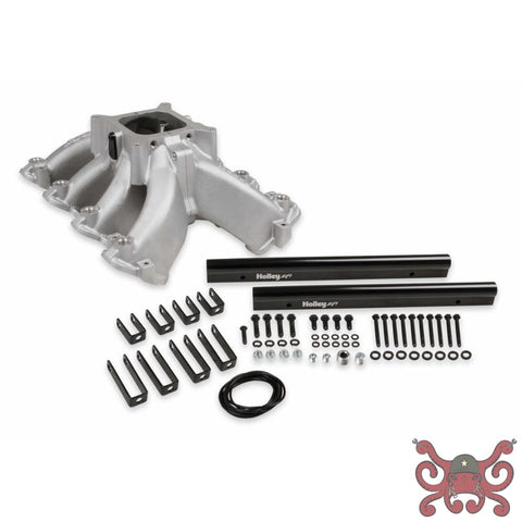 Holley EFI LS1 Single Plane Split-Design Race Intake Manifold #300-255 LS1 / LS2 / LS3 Intake Manifold