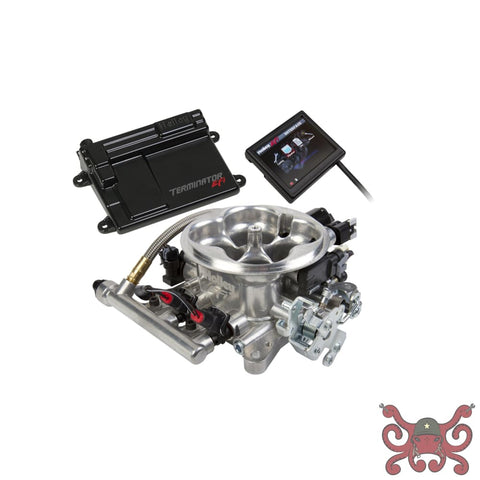 Holley EFI Terminator LS TBI Kit - Polished #550-409 Terminator LS TBI Kit