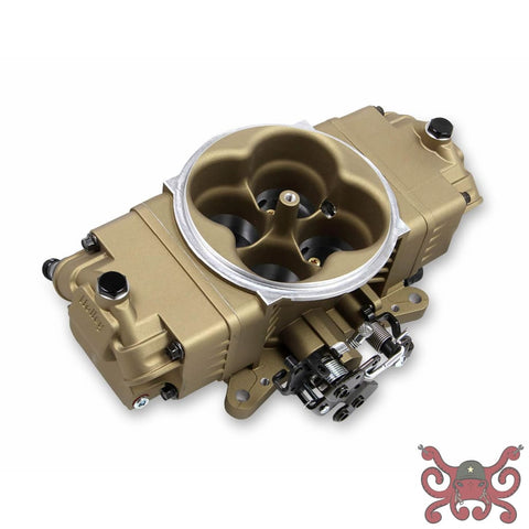 Holley EFI Terminator Stealth 2x4 Slave Throttle Body - Classic Gold #534-242 Throttle Body