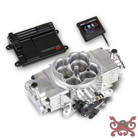 Holley EFI Terminator Stealth EFI Kit-Shiny #550-440 Stealth Terminator Kit