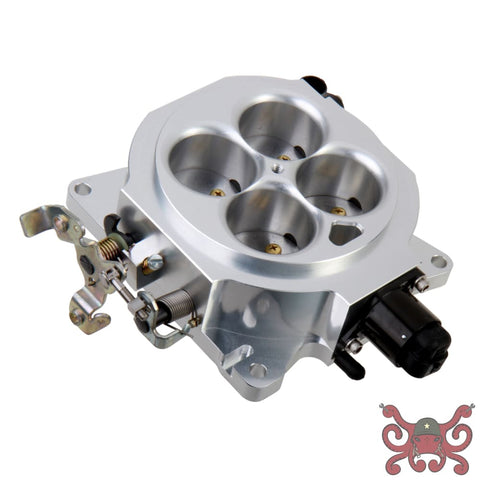 Holley EFI Universal 4BBL Billet 1000 CFM 4150 Flange Throttle Body #112-577 Billet 1000 CFM Throttle Body