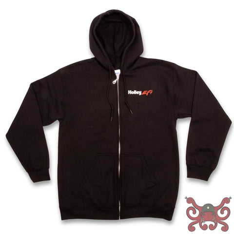 Holley EFI Zip Up Hoodie #10134-4XHOL Hoodies