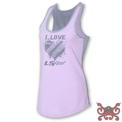 Holley Ladies LS Fest Lavender Tank #10169-2XHOL Apparel