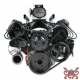 HOLLEY PREMIUM BLACK MID-MOUNT LS7 COMPLETE ACCESSORY SYSTEM