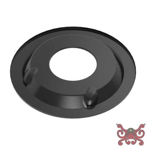 Holley Sniper EFI Air Cleaner Drop Base - Black #120-511 Air Cleaner Base