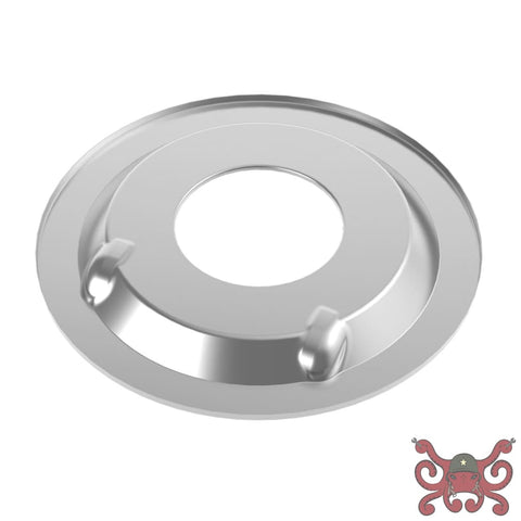 Holley Sniper EFI Air Cleaner Drop Base - Chrome #120-510 Air Cleaner Base