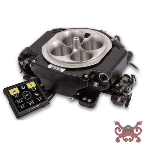 Holley Sniper EFI XFlow - Black Ceramic #550-541 Sniper 4BBL TBI Kits