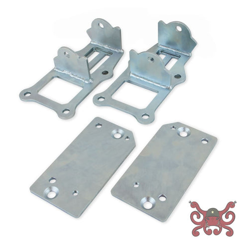 Hooker Blackheart Engine Mount Brackets #71221012HKR Engine Mounts