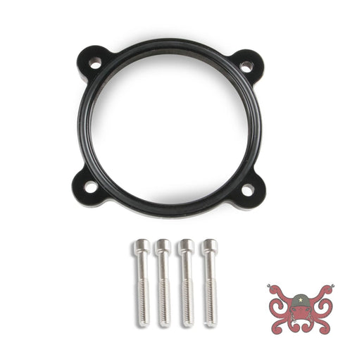 Sniper Throttle Body Spacer Black 2011-present Ford Coyote 5.0L V8 #860003B Throttle Body Spacer