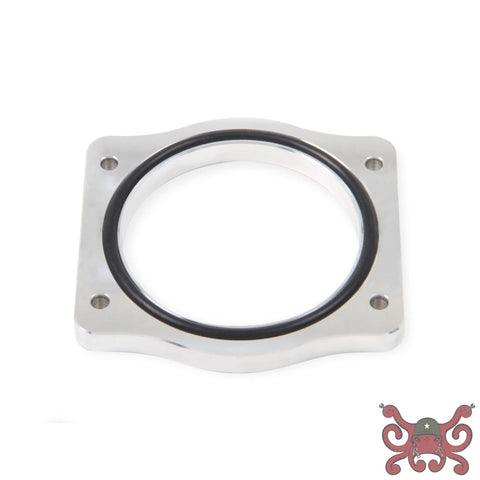 Sniper Throttle Body Spacer Silver 102mm LS-engines #860013 Throttle Body Spacer