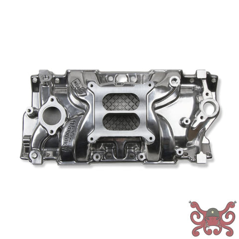 Weiand Speed Warrior Intake - Chevy Small Block V8 #8170P Intake Manifold