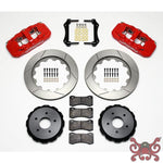 Wilwood AERO4 Big Brake Rear Brake Kit For OE Parking Brake Brake Kit