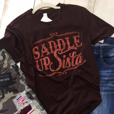 Saddle Up Graphic Tee