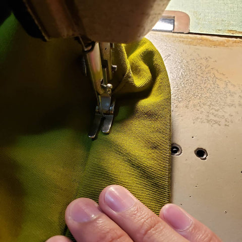 Raw Length Hemming
