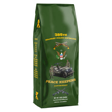 385th Military Police Battalion Peace Keepers Medium Roast Ground Coffee - Colombian Organic