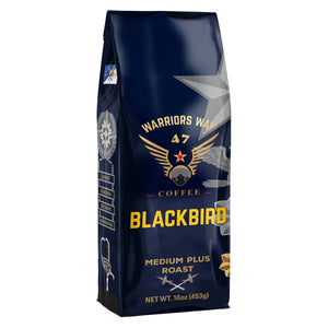 Warriors Way Coffee Blackbird Medium Plus Roast Ground Coffee