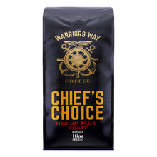 Warriors Way Coffee Chief's Choice Medium Plus Roast Ground Coffee