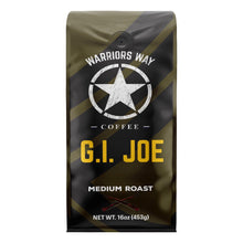 Warriors Way Coffee GI Joe Medium Roast Ground Coffee