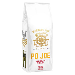 Warriors Way Coffee PO Joe Medium Roast Ground Coffee