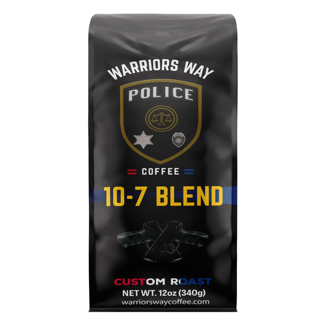 10-7 Blend Medium Roast Ground Coffee - Colombian Supremo