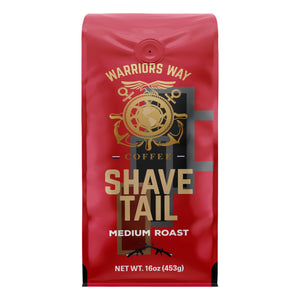 Warriors Way Coffee Shave Tail Medium Roast Ground Coffee