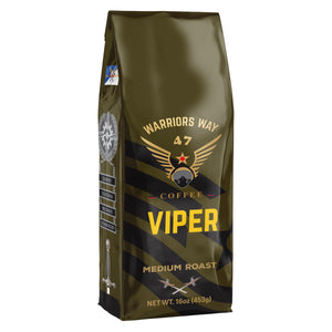 Warriors Way Coffee Viper Medium Roast Ground Coffee