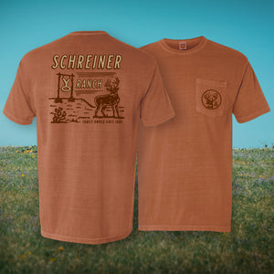 Orange YO Whitetail T-Shirt