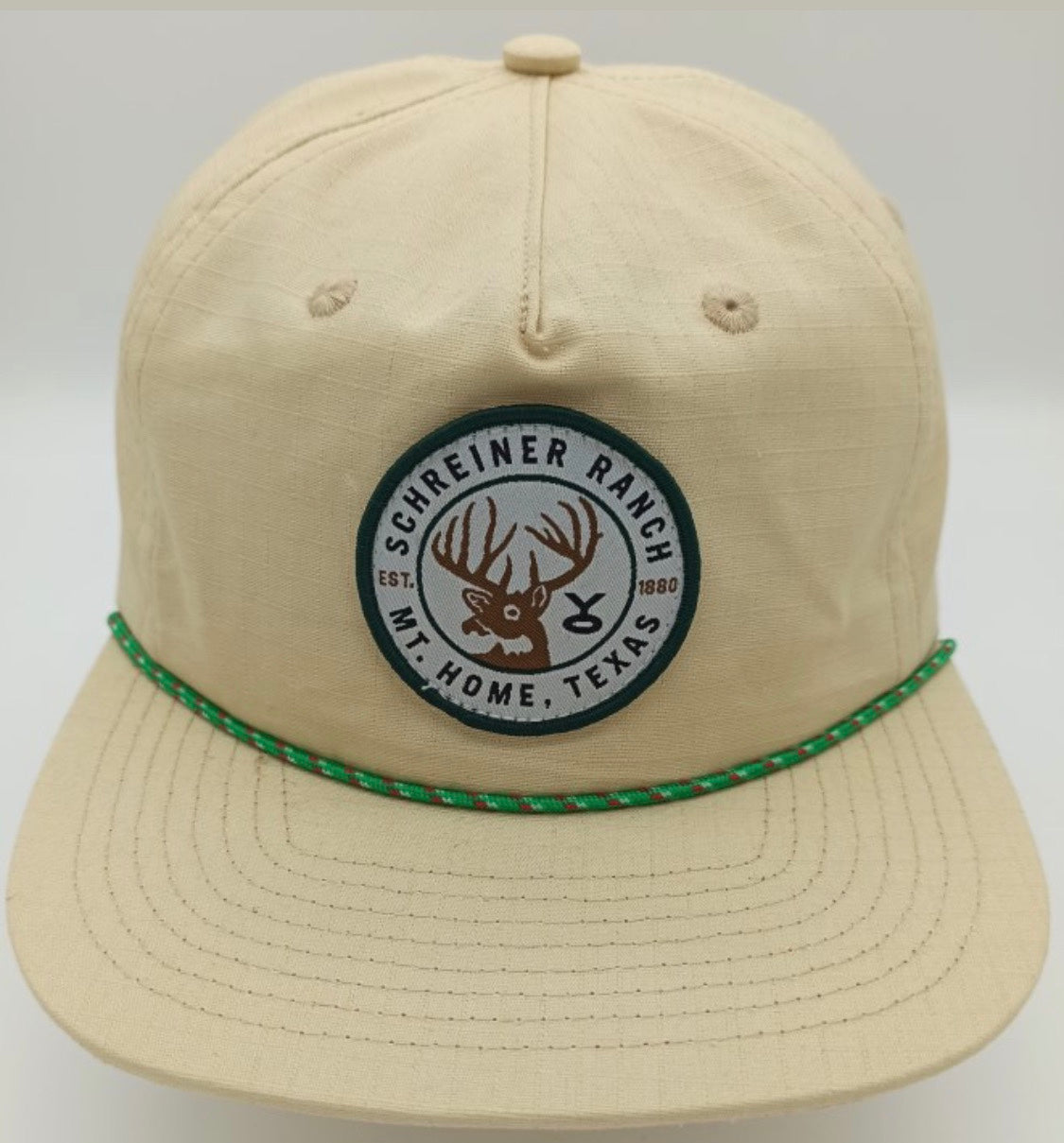 Khaki Whitetail Schreiner Bros Rope Hat