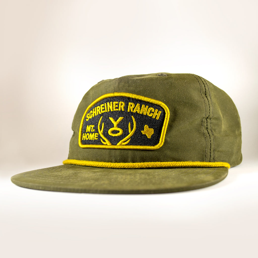 Feedstore Patch Snapback - Hunter Green