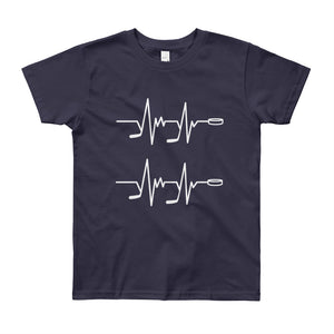 Hockey Heartbeat Kids T-Shirt