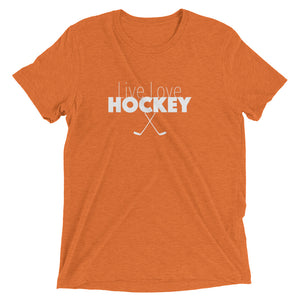 Live Love Hockey Tri-Blend T