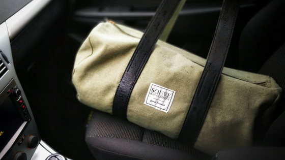 Gym bag. Photo by Jens Mahnke from Pexels