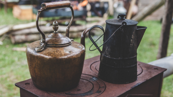 Stove and Kettles, Photo by Clem Onojeghuo on Pexels